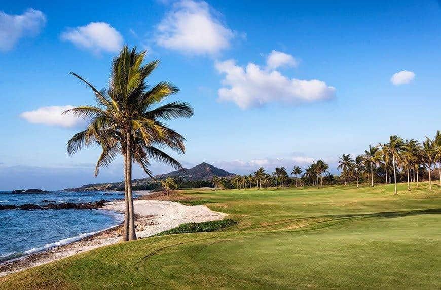 Beaches, mountains, palm trees - a wedding paradise. Photo: St Regis Punta Mita