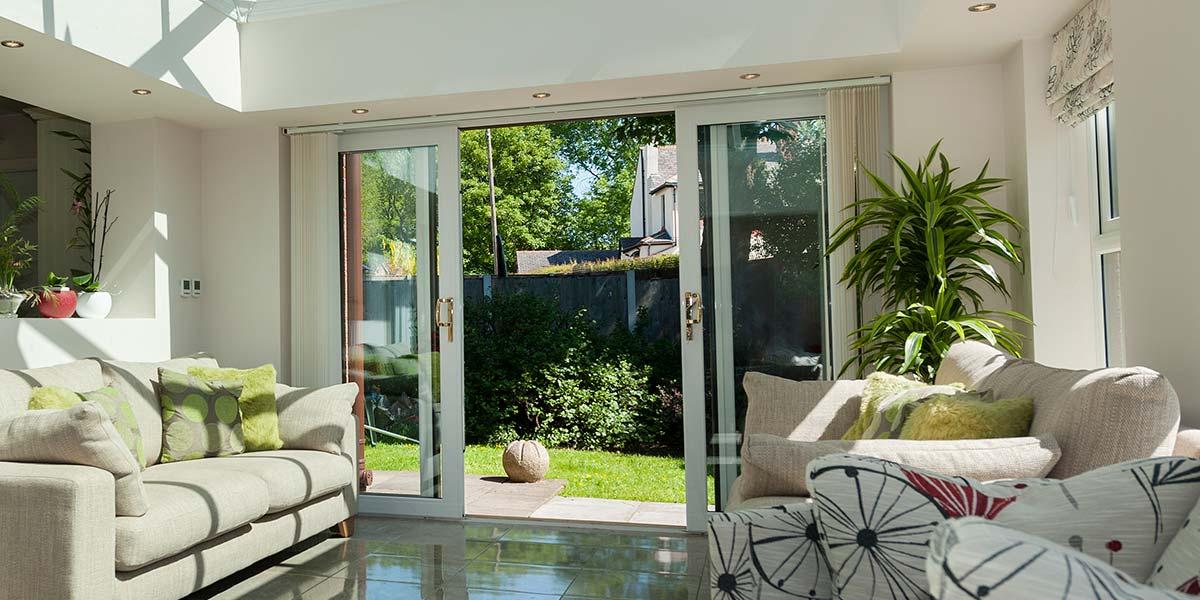 Sliding Patio Doors  UPVC  Aluminium Patio Doors from 5 Star Windows Worcestershire