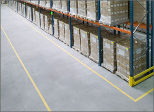 Floor Marking is a Necessary Measure in the 5S and Lean Manufacturing Philosophies