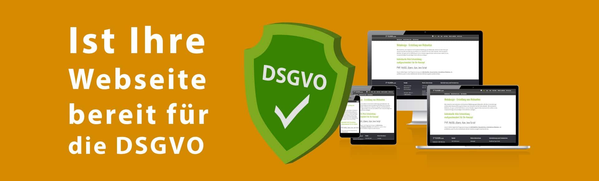 Ist Ihre Webseite bereit für die DSGVO?