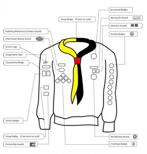 5th Woodley Scout Group » Uniform