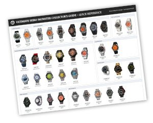 The Ultimate Seiko Monster Collector's Guide