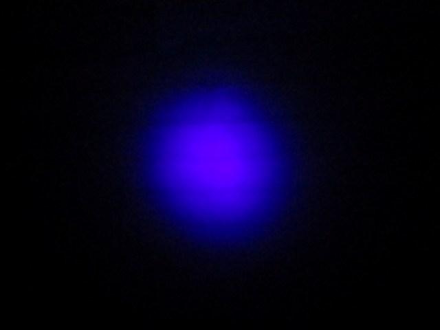 Kuva 15 - 9-ledinen nimetön lamppu ei ollut testijoukon huonoin. Valotehoa on enemmän jos vertaa UV PRohon