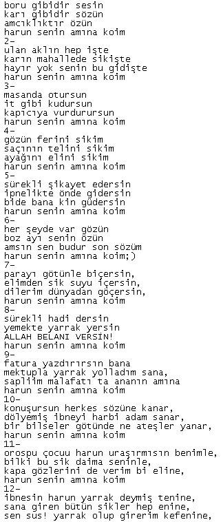 Bu şiir MEB'in 7. sınıf edebiyat kitaplarında yayınlanmalı