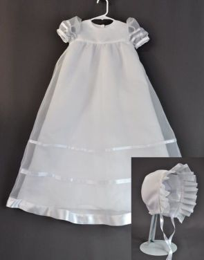 Grandmother's Creates Beautiful Christening Gown for Granddaughter