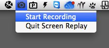 Screen Replay pour Mac