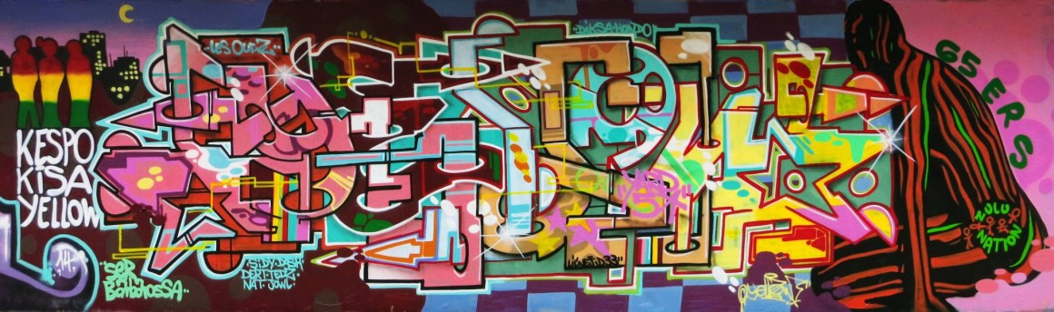 Yellow Graffpark Mantes 78 (2014)