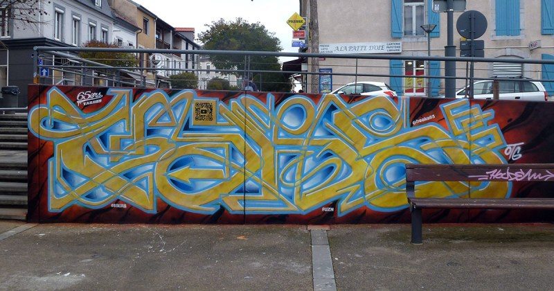HIKS graffiti