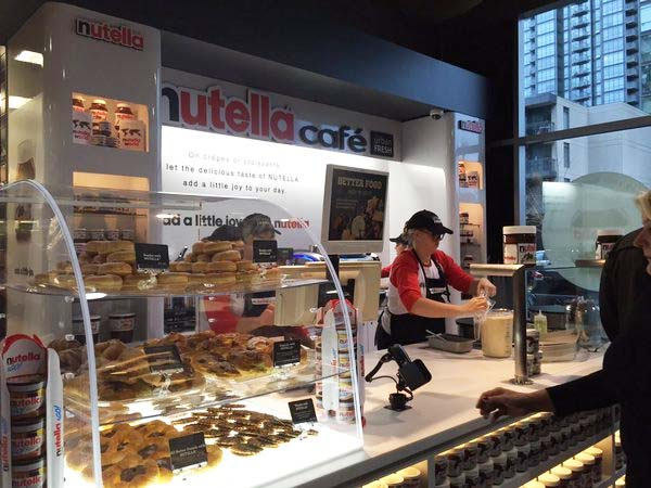 Canadas First Nutella Café Opened Today At Sobeys Spadina