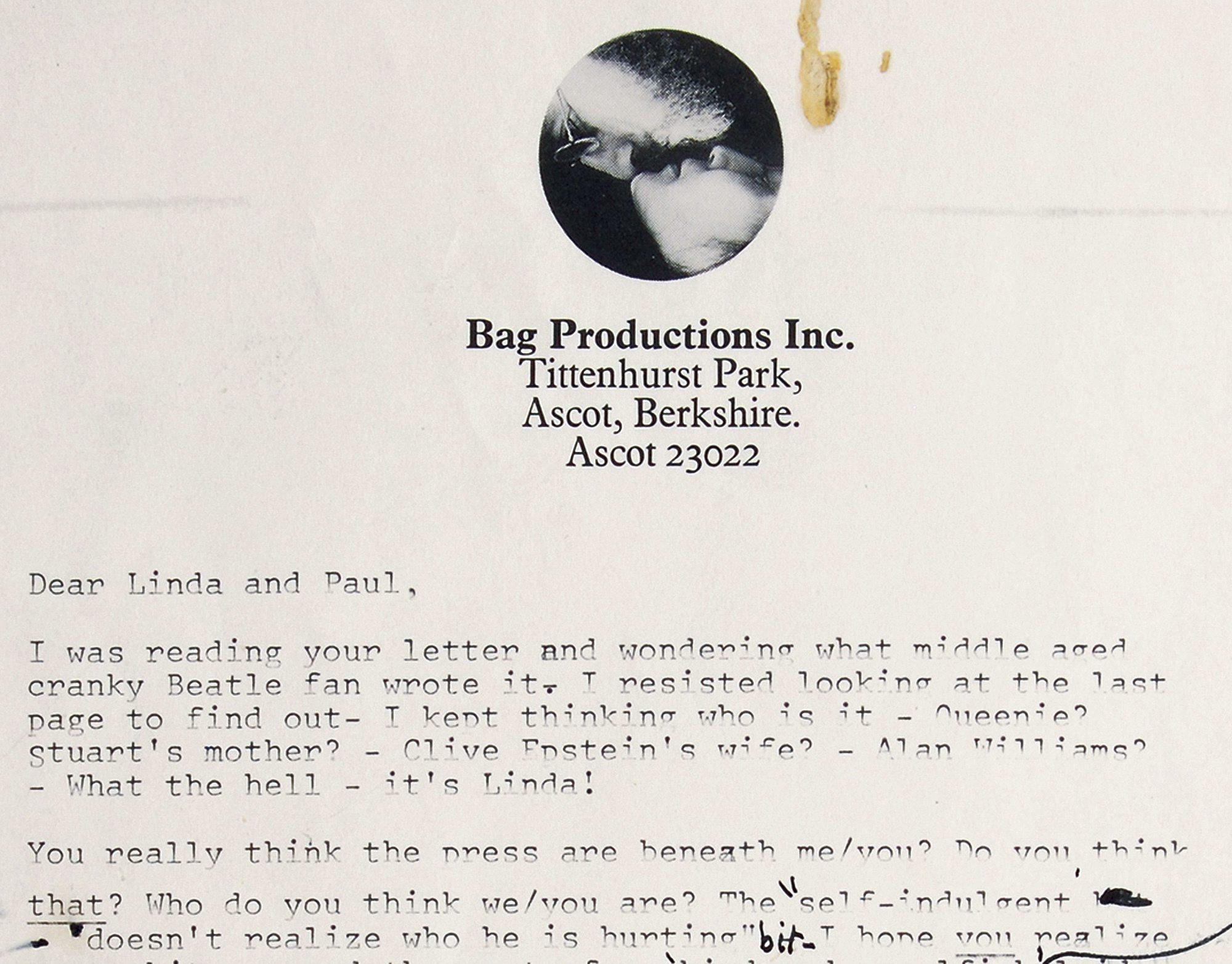 John Lennon's Beatles breakup letter sold at auction for $30,000 ...