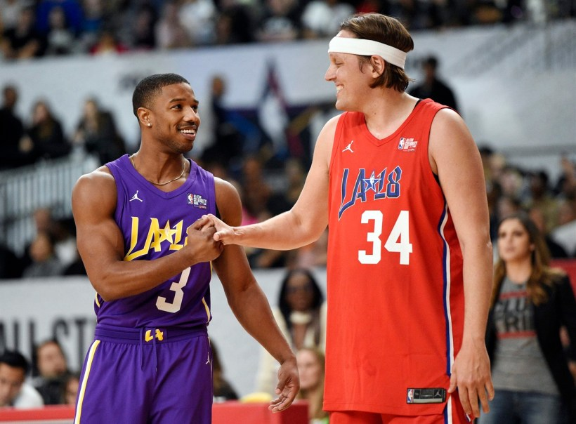 ... Win Butler Shake Hands During The Nba. Migos Star Shines In Celebrity  Game Watson Does Double Duty 680 News 39d8993e9