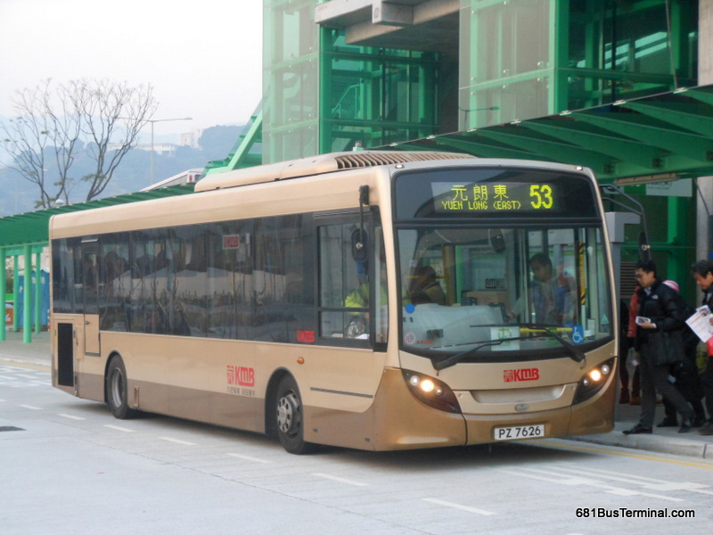 KMB Air-Conditioned Route 九巴空調路線 - 53