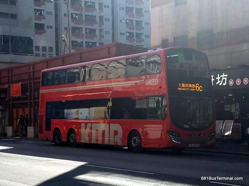 KMB Air-Conditioned Route 九巴空調路線 - 6C