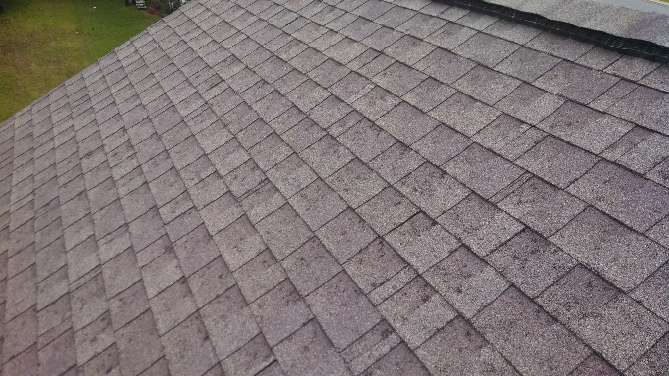 Hail Damaged Roof Trs The Roofing Specialist