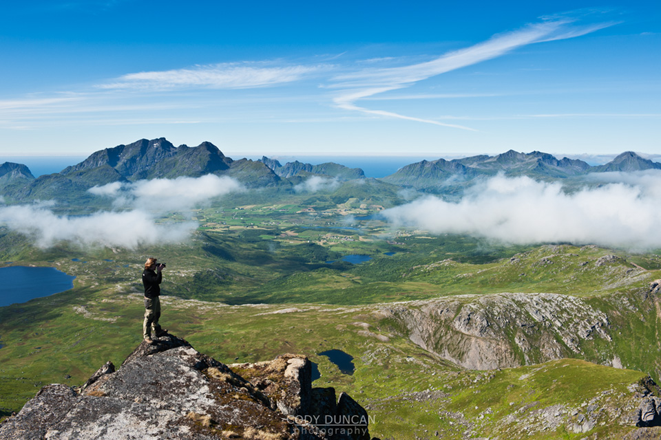 Justadtinden Mountain Hiking Guide Lofoten Islands Norway 68 North