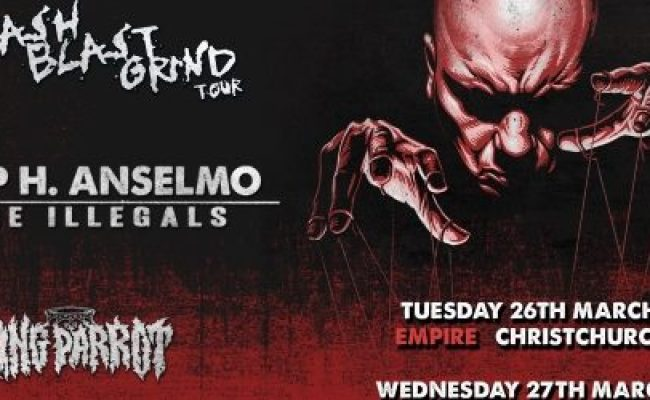 Philip Anselmo S Concerts In New Zealand Canceled