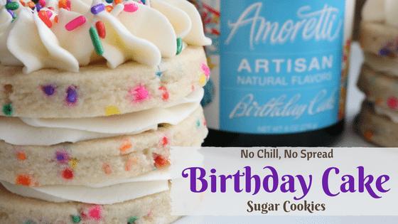 Birthday Cake Sugar Cookies 6 Cakes More LLC