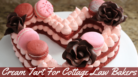 Cream Tart for Cottage Law Bakers