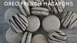 oreo french macarons