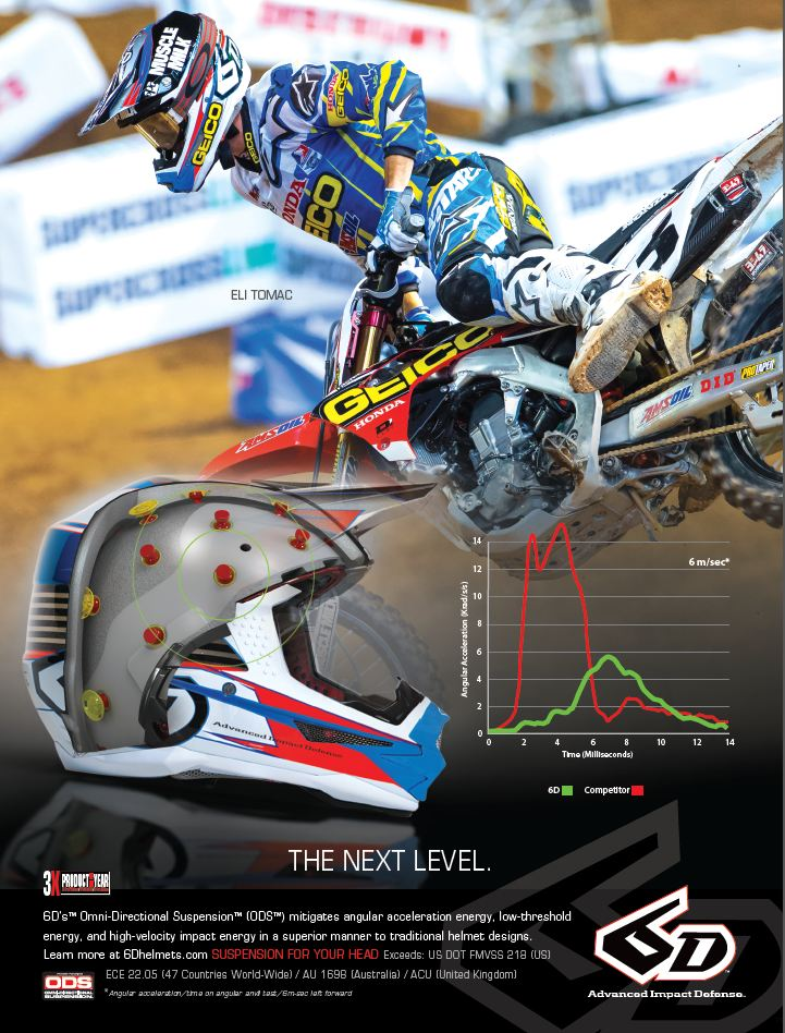 6D Tomac Time Ad