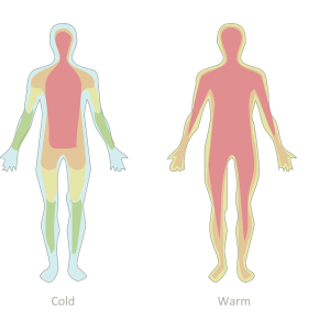 How to control the perception of cold