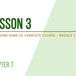Lesson 3 – Self-defense: mental preparation