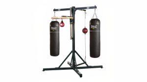 Training tools: Pro 4-Station Boxing Gym