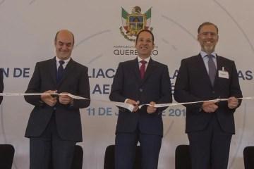 Inaugura Francisco Domínguez planta Externals de ITP Aero en Querétaro