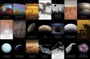 ¿Eres fan del Espacio?, la NASA pone a tu disposición 72 posters del Sistema Solar; descárgalos