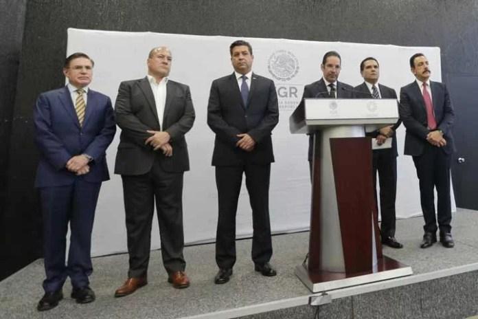 Conago se reúne con la FGR y encargados de la seguridad nacional; acuerdan agenda de trabajo