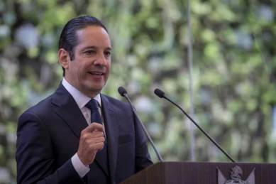 """""""Queremos un solo Querétaro, el de todos"""", Francisco Domínguez en su Cuarto Informe"""