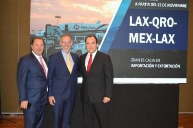 Presentan nueva ruta de carga Los Ángeles–Querétaro