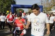 Conmemoran Día Internacional de Personas con Discapacidad en Corregidora con carrera paralímpica