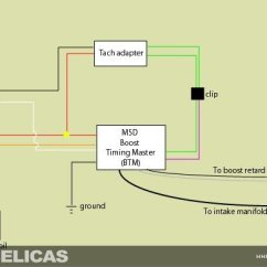 Msd Btm Install Car Turning Radius Diagram Installing A Boost Timing Master On Gt 6g Celicas The