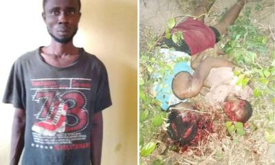 Man Allegedly Kill His Wife And Child