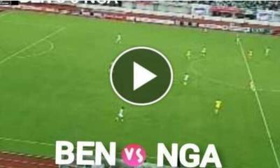 Watch Benin vs Nigeria Live Streaming Match and Goal Highlights