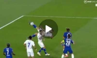 Watch Goal As Mehdi Taremi scores masterful overhead kicks Against Chelsea