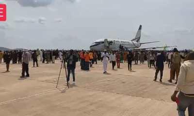 Watch Video As First Flight Lands At Anambra International Cargo Airport