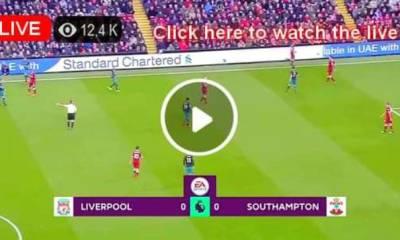 Watch Liverpool vs Southampton Live