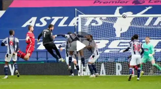 Alisson incredible Goal