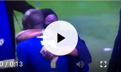 Very Emotional: Watch Moment N'Golo Kante Celebrate The Champions League Win With His Mummy