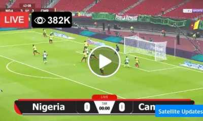 Watch Nigeria vs Cameroon Live Match and Goal Highlights