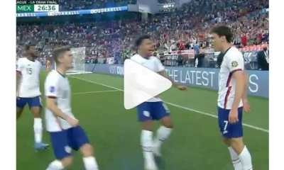 Watch Christian Pulisic Wonderful Performance And His Trophy Winning Goal Against Mexico
