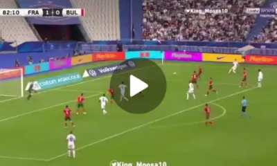 Watch Olivier Giroud Scores Two Lovely Goals Against Bulgaria