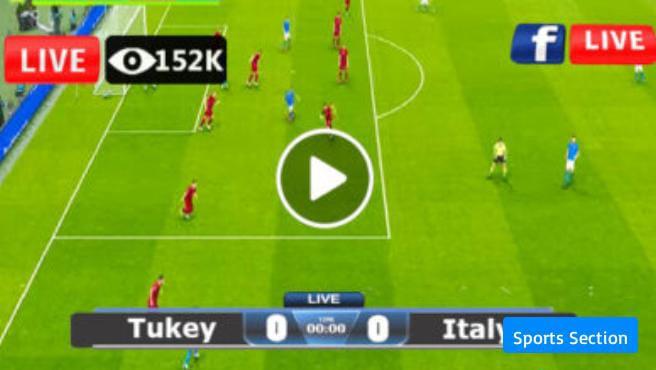 Watch Turkey vs Italy Live
