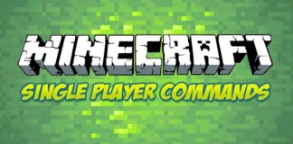 Single Player Commands Minecraft 1.12.2/1.11.2