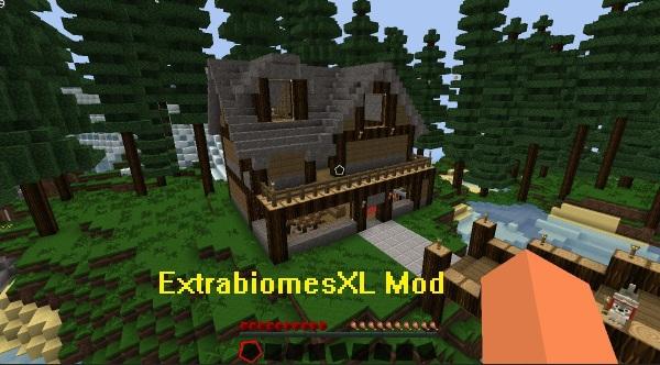 ExtrabiomesXL Mod 1.15.1