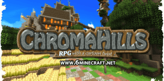 Chroma Hills Resource Pack 1.12.2/1.11.2