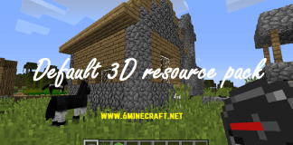 Default 3D Resource Pack 1.12.2/1.11.2