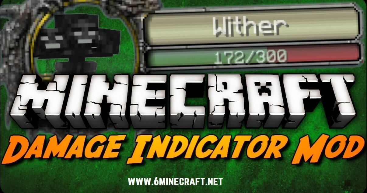 Damage Indicator Mod 1.12.2/1.11.2